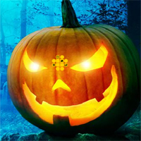 Games2Rule Halloween Green Pumpkin Escape