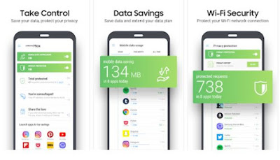 Samsung Max offers Mobile Data Saving Mode and Privacy Protection Mode