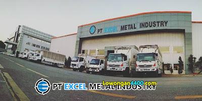 Lowongan Kerja PT Excel Metal Industry Bulan Juni 2021