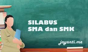 Silabus Bahasa Indonesia kelas 10, 11, 12, SMA dan SMK K13