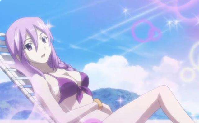 Karakter Anime Perempuan Berambut Ungu Terbaik dan Tercantik - Sion Eltnam Atlasia (Melty Blood / Carnival Phantasm)
