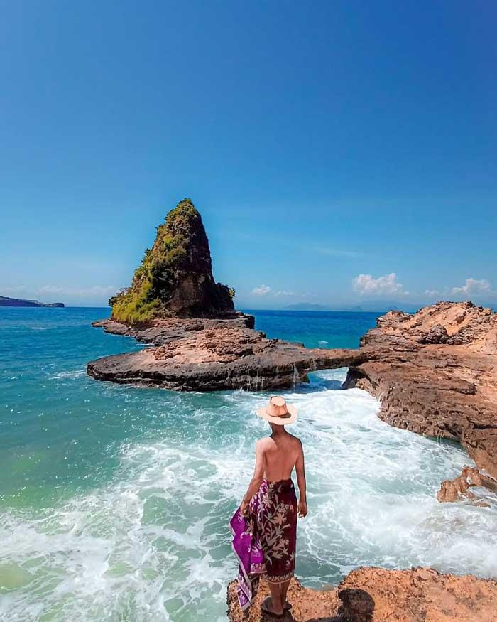 Fasilitas Wisata Tanjung Bloam Lombok