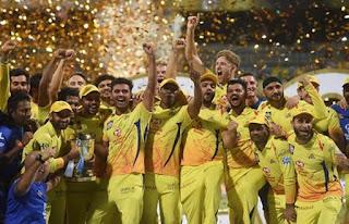 CHENNAI SUPER KINGS, IPL 2018 WINNER