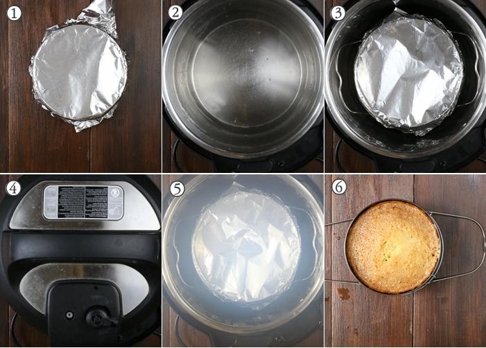 how to make revani semolina cake in instant pot
