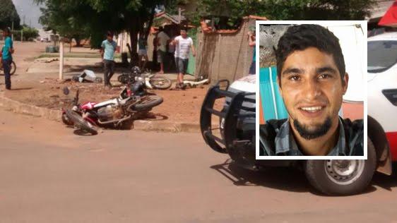 Jovem morre após colisão entre duas motocicletas na Avenida Rio de Janeiro