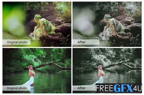 Dramatic Forest Presets