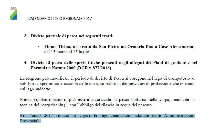 Calendario Regionale Abruzzo.Arci Pesca F I S A Comitato Provinciale Di Chieti Maggio 2017