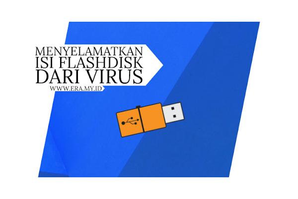 Cara Mudah Menyelamatkan Isi Flashdisk Dari Virus Sality