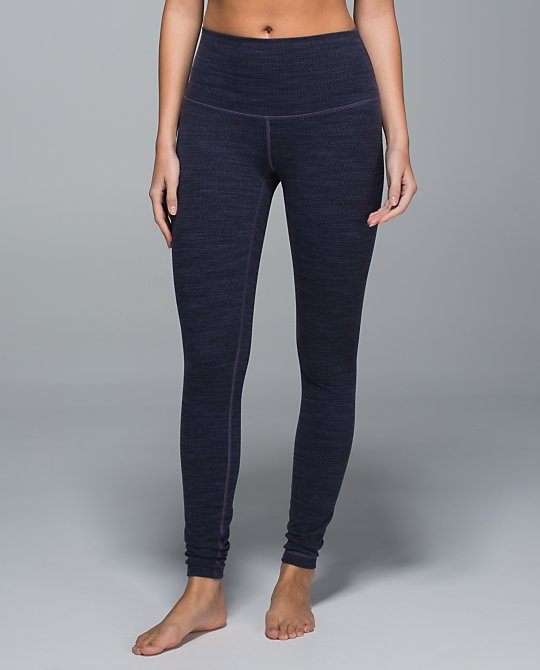 lululemon diamond jacquard wunder under pant
