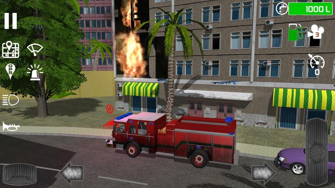 Fire Engine Simulator Hileli APK v1.4.7