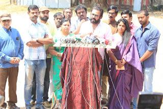 Nadigar Sangam Press Meet on Bhavana Issue  0013.jpg