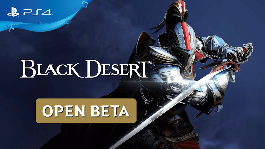 black desert ps4 open beta live mmorpg game pearl abyss