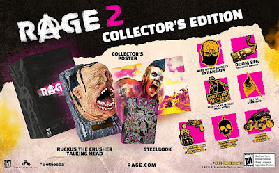 Rage 2 Game Cover Collectors Edition