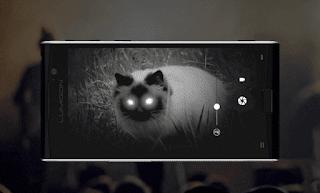 Lumigon T3, Smartphone Pertama Didunia dengan Kamera Night Vision