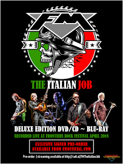 FM - THE ITALIAN JOB - new live album signed pre-order