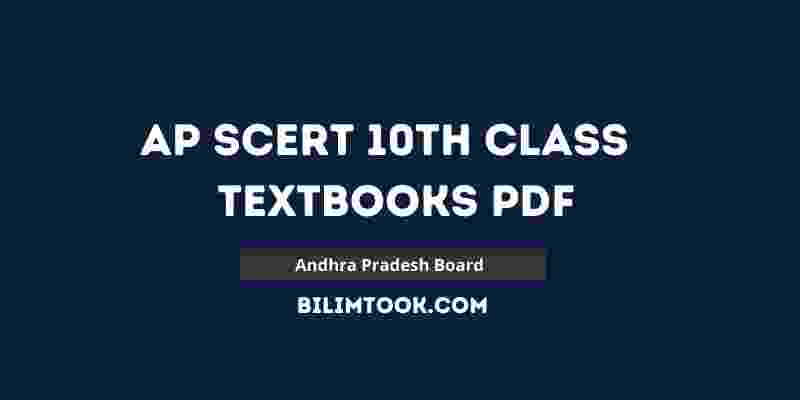 AP SCERT 10th Class All Books PDF Download - 2021