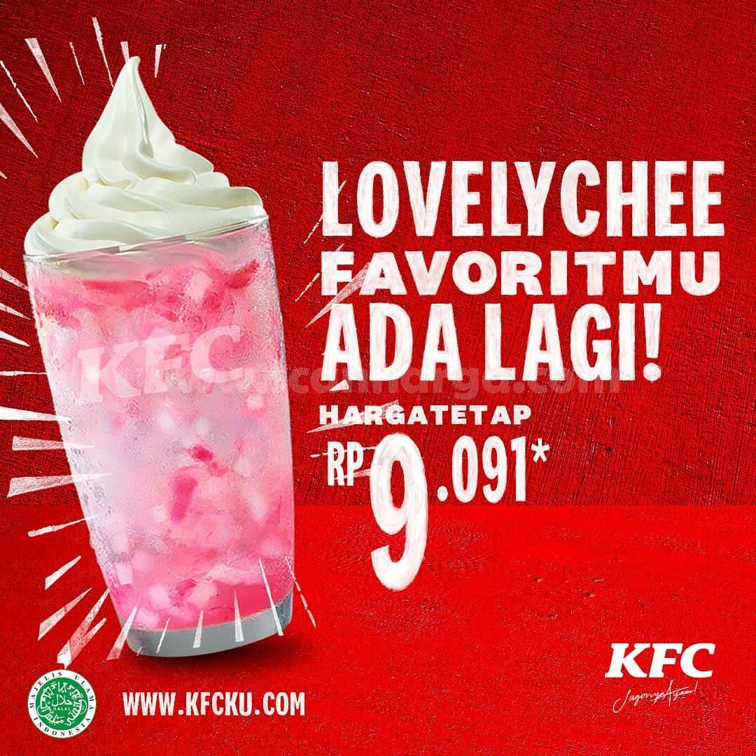 KFC LOVELYCHEE! Harga Spesial Rp 9.091