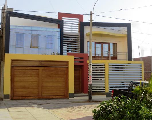 Fachadas de casas bonitas google for Fachadas de casas con terraza