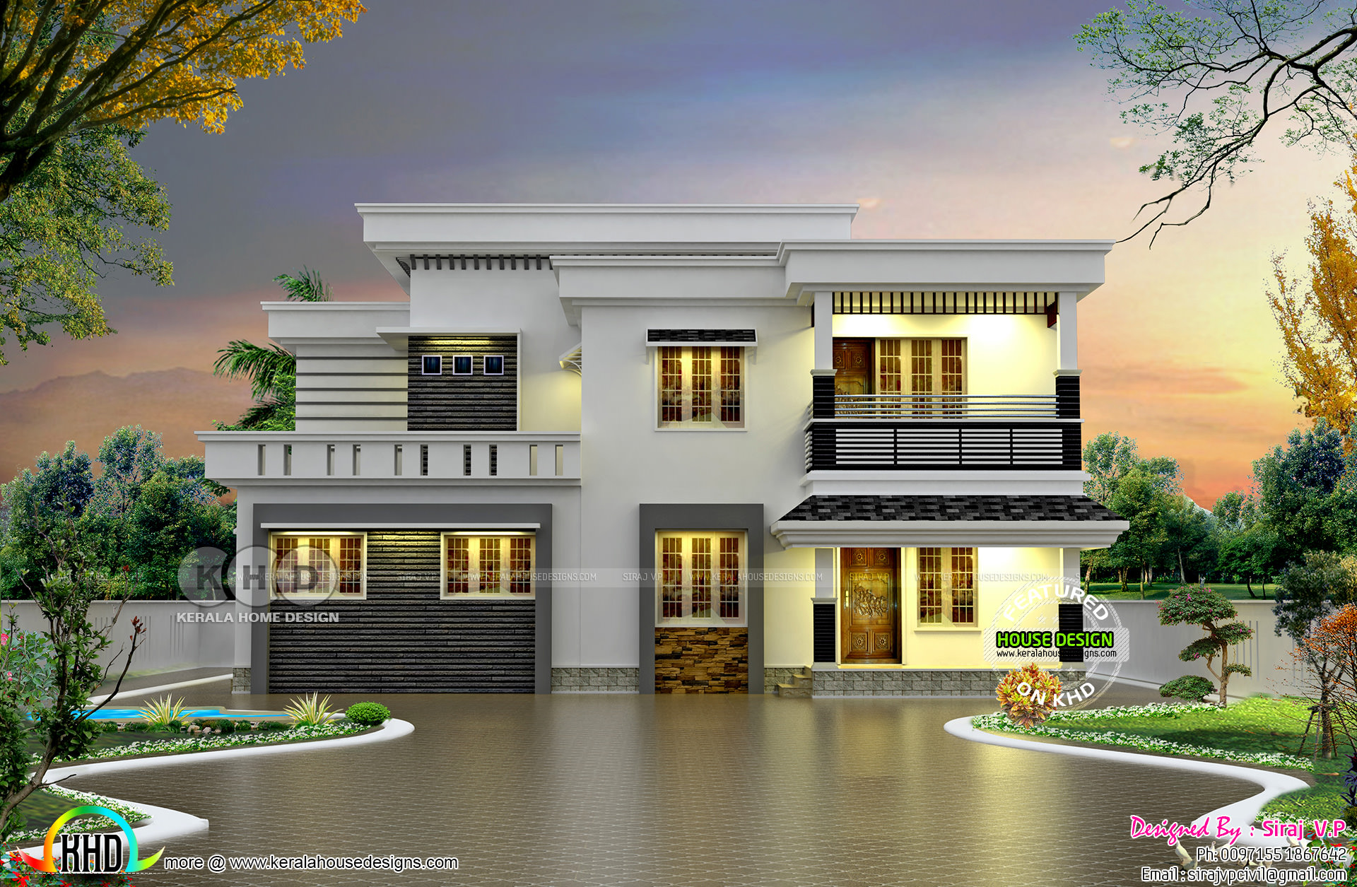 1949 Sq Ft 4 Bed Low Cost Home In Different Look Kerala Home Design And Floor Plans