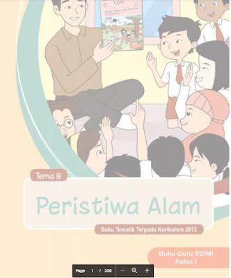 Buku Tematik Kelas 1 Semester 2 Revisi 2018