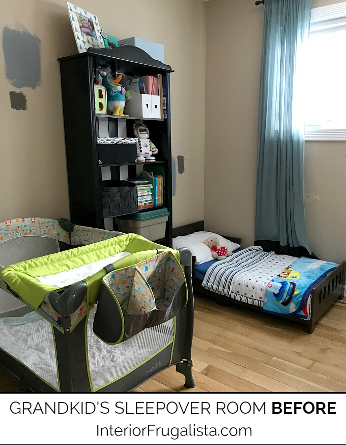 Kids Room Makeover On A Budget BEFORE