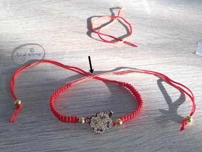 Adzik tworzy - jak zrobić bransoletki DIY z łącznikiem