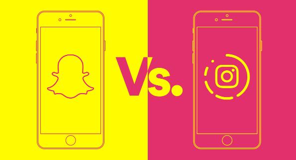 Instagram Stories Vs. Snapchat Storie's