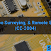 Advance surveying & remote sensing (CE-3004)