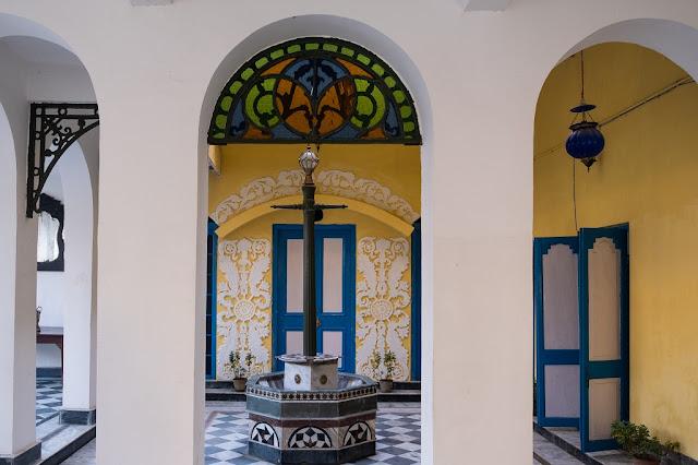 Stained Glass at Bari Kothi Murshidbad