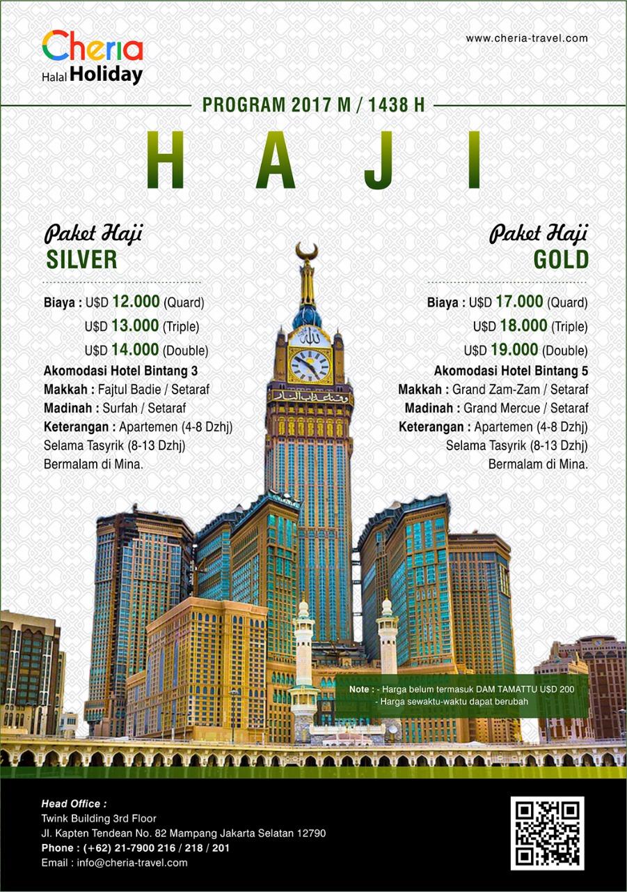 Travel Haji Plus Jakarta Selatan Onh Khusus Cheria Holiday
