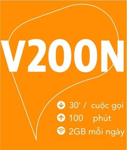 4G Viettel Gói V200N