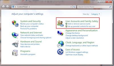 cara membuat kunci pada laptop