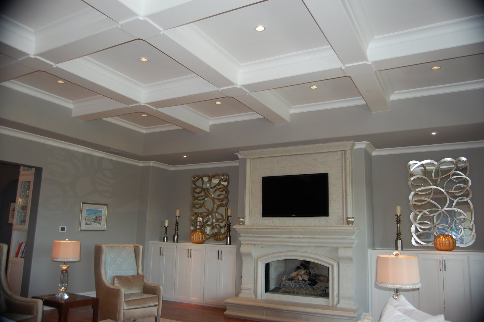 Modern Coffered Ceilingghantapic