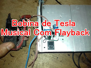 Bobina de Tesla Musical