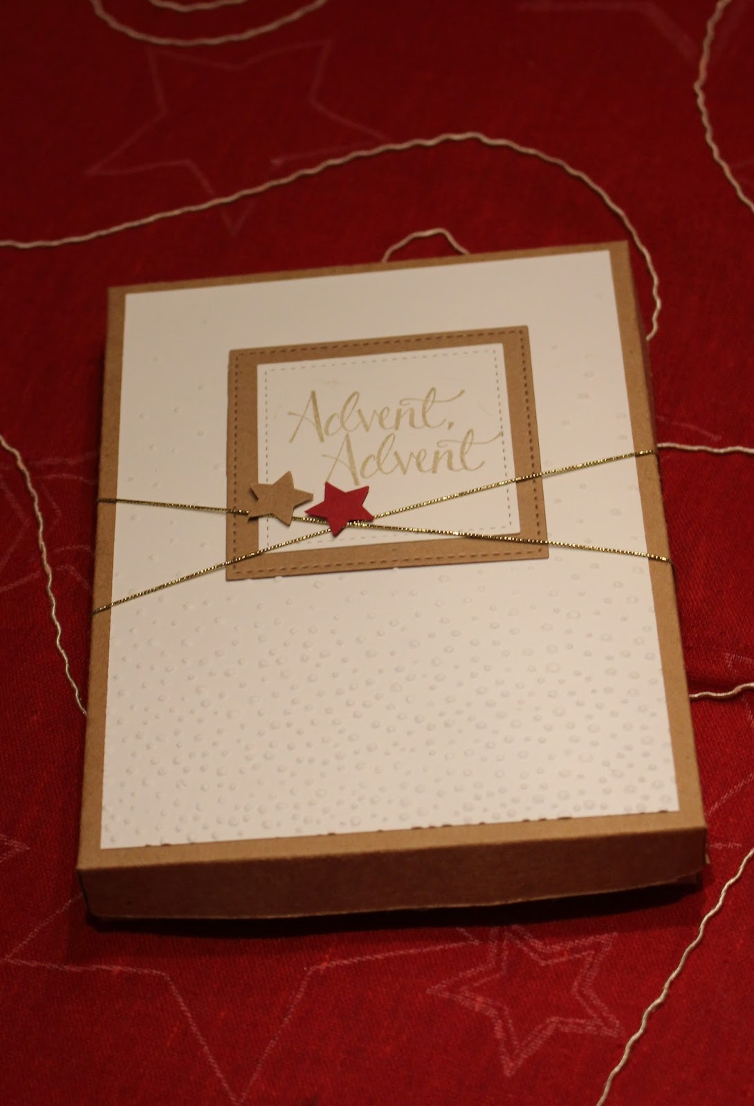 Weihnachtskalender Verschicken.Bely S Kreative Stempelideen