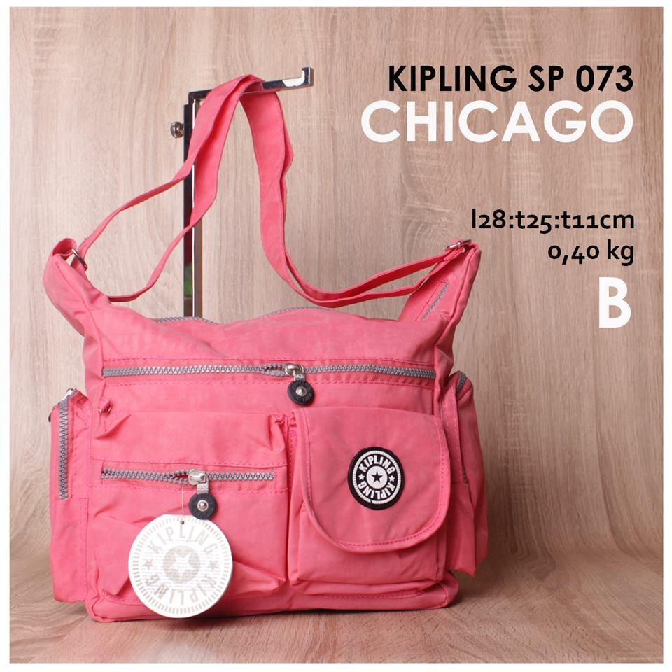 Jual online tas kipling kw model selempang dari bahan parasut dengan 4  pilihan warna cc11ccd164