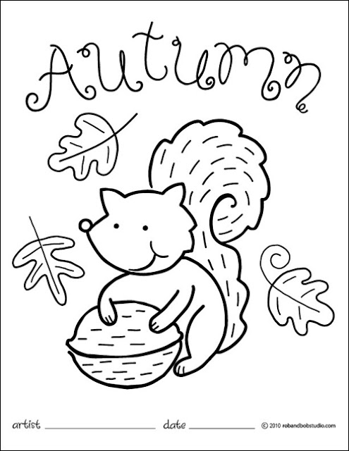 free coloring pages for fall season | Free Autumn Coloring Pages | Autumn Weddings Pics