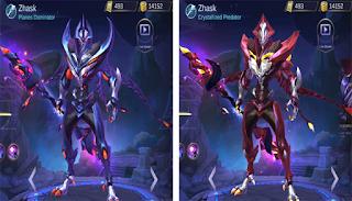 skin hero zhask
