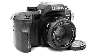 Minolta Maxxum 7 Body #028, Maxxum AF 50mm 1:1.7 RS #836