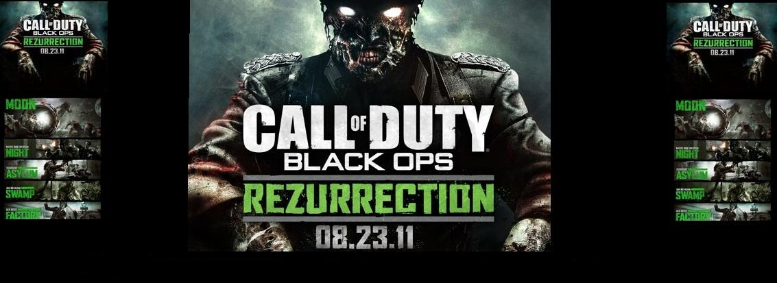 Rezurrection Map Pack Download[XBOX/PS3/PC/USB] on call of duty black ops zombies pack, black ops rezurrection map pack, call of duty escalation pack,