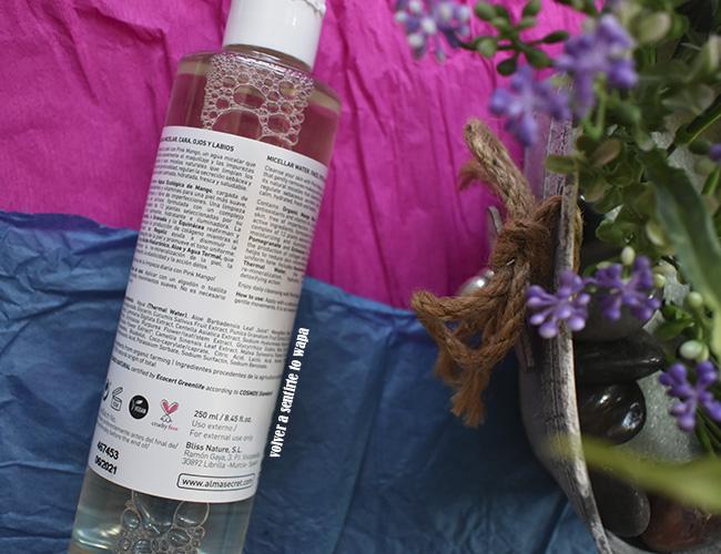 Agua Micelar Pink Mango de Alma Secret
