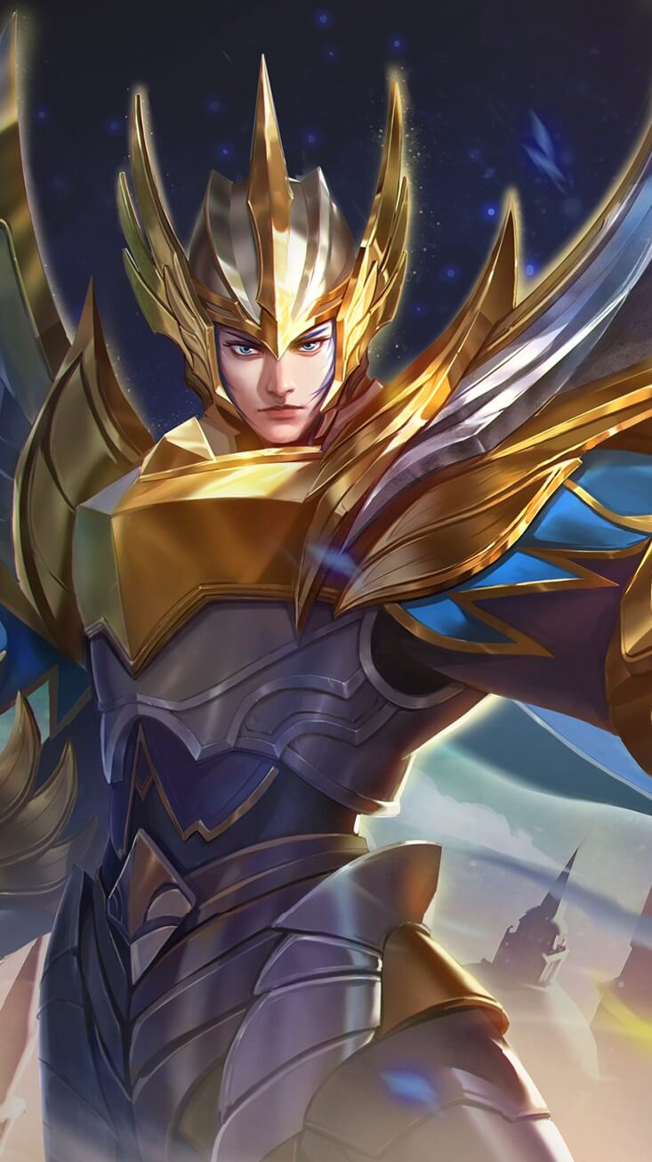 Wallpaper Zilong Glorious General Skin Mobile Legends for Android and iOS