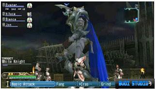White Knight Chronicles: Origins PPSSPP PSP 2