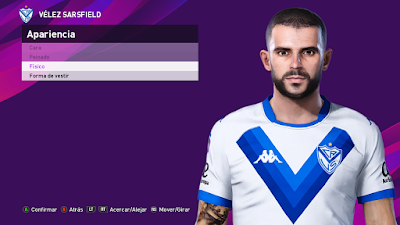 PES 2020 Faces Fernando Gago by Octavio