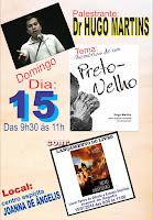 Palestra com Hugo Martins
