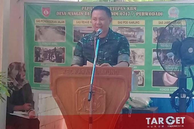 Letkol Inf Asaman Mokoginta : KBM Dapat Meningkatkan Kesejahteraan Perekonomian Masyarakat