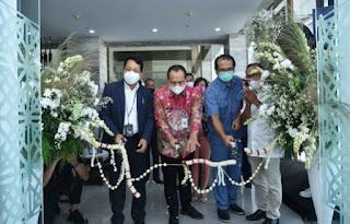 Bupati Batu Bara Hadiri Acara Peresmian Kantor Kas BRI Kuala Tanjung
