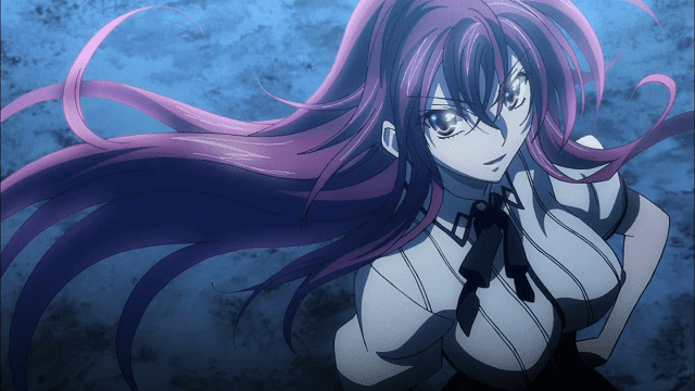 rias memiliki dada paling besar di anime High School DxD