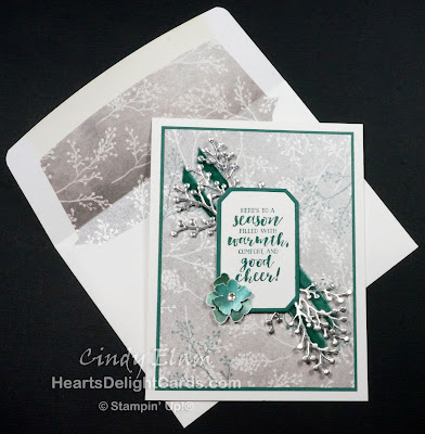 First Frost, Stamp Review Crew - First Frost, Frosted Bouquet Framelits, Stampin' Up!, SRC - First Frost