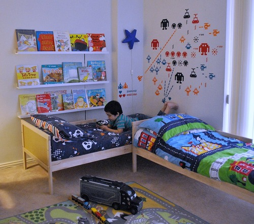 7 Year Old Boys Bedroom Ideas: The Boo And The Boy: A Shared Big Boys' Room